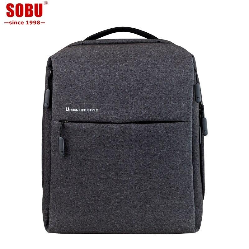New XiaoMI Mi Backpack Urban Life Style Shoulders Bag Rucksack Daypack School Bag Duffel Bag Fits 14 inch Laptop portable V051