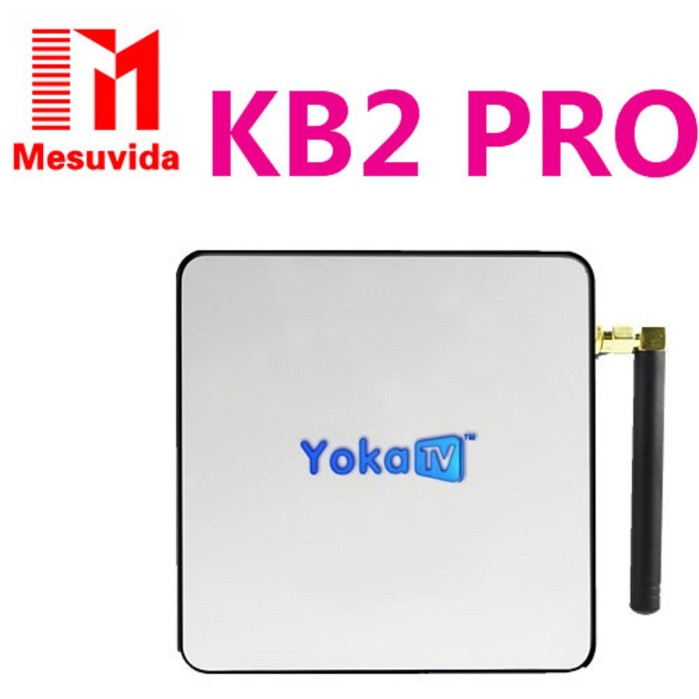 Yokatv KB2 PRO Amlogic S912 Octa core Smart TV Box Android 6.0 DDR4 3GB 32GB Set Top Box BT 4.0 4K wifi Streaming Media player new x98 pro android 6 0 tv box 3gb ram 16 rom amlogic s912 octa core smart tv box 2 4g 5 8g dual wifi bt4 0 uhd 4k media player