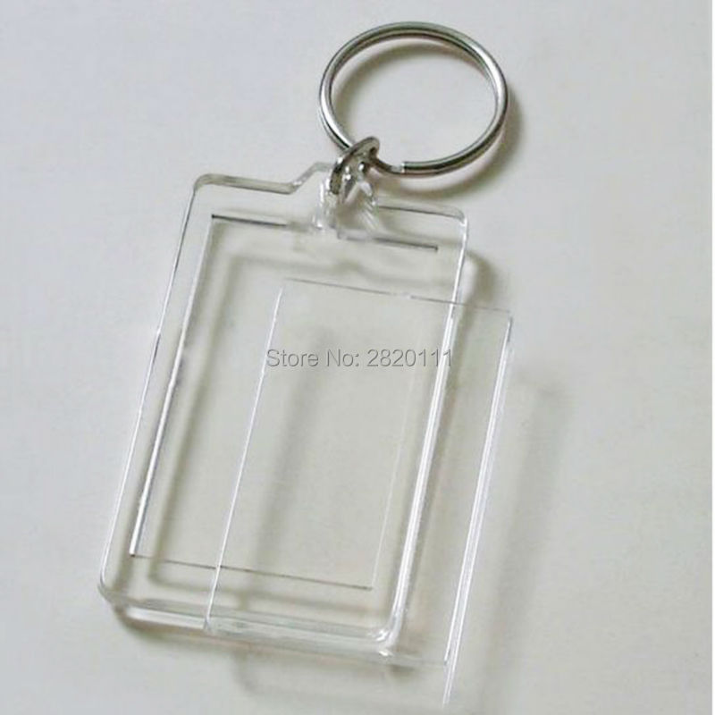 Detail Feedback Questions about Wholesale 50PCS Blank Acrylic Square    Rectangle Photo Key Chains Photo Frame Keyrings Tags Free shipping on  Aliexpress.com ... f20bd05a0ef5