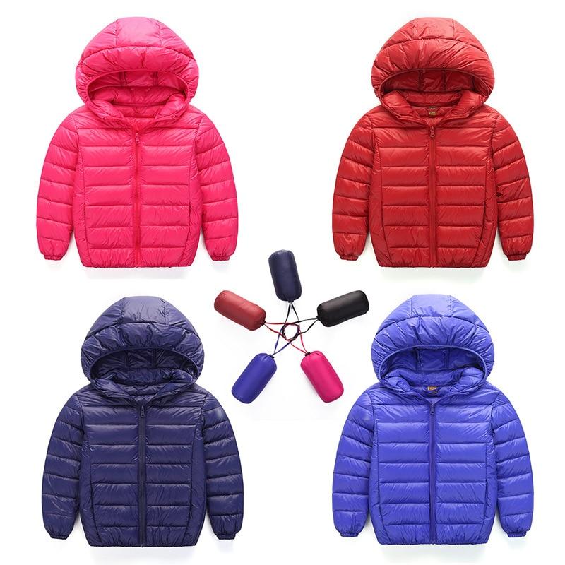 2019. gada jauns mazuļu zēns un meitene, biezas, siltas jakas, bērnu mode ar virsaku kapuci Virsdrēbes Bērnu apģērbi 7 krāsas Karstās izpārdošanas
