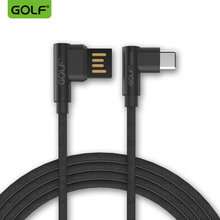 Golf type-C elbow cable 90 degrees MAX2 music visual millet millet mobile phone charger line double available fast charging