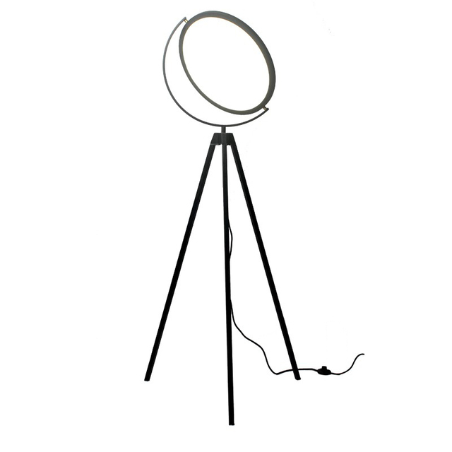 Post modern simple individuality creative Tripod floor lamps dining or living room bedroom black white standing lighting fixture