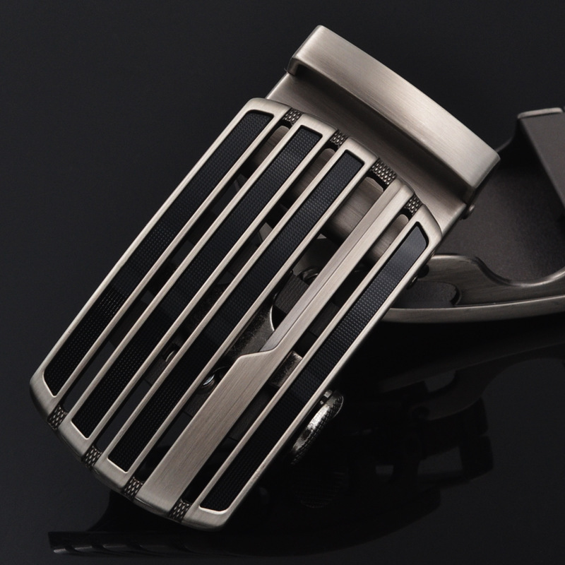 Men's Business Alloy Automatic Buckle Unique Men Plaque Belt Buckles For 3.5cm Men Apparel Accessories Designer Belt LY125-0740