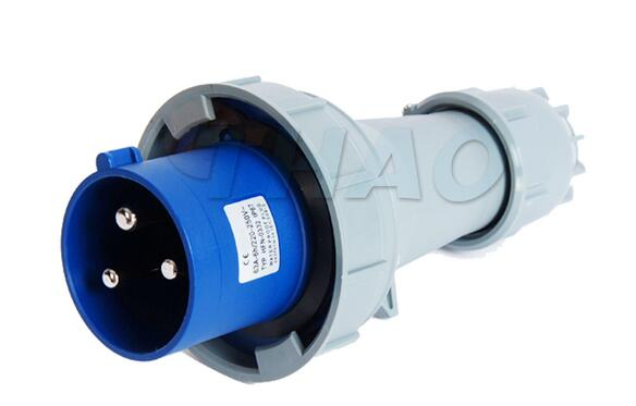 1 Pair 63A Red Water Proof IP67 3P+E+N and 1 Piar Blue 63A 2P+E Industrial Socket and Plug ac 32a water proof ip67 3p e n iec309 2 industrial plug conector red white