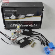 10sets cree high quality 9004 9007 led head light 9004 led headlight bulb 9007 cree led headlight