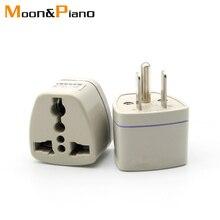 Nieuwe Aankomst Algemene Eu Au Naar Ons Ac Power Plug Internationale Travel Charger Adapter Converter In Japan Thailand Voltage 250 V