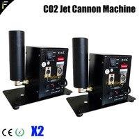 2 * лот Клубная пушка DMX512 Co2 струйная криогенная установка Co2 Blaster холодный воздух газа Cloumn производитель машина CO2 трубка курительная спрей с