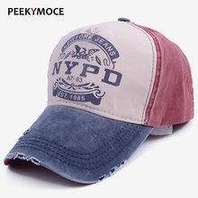 2017 adult brand baseball cap fitted hat Casual gorras 5 panel hip hop snapbacks hats wash caps for men women unisex wholesale