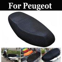 Malha respirável Tampa De Assento Da Motocicleta Almofada Cobertor Protetores Para Peugeot Citystar 200i Django 150i Qp150t D Qp150t G Qp200t|Capas p/assento|Automóveis e motos -