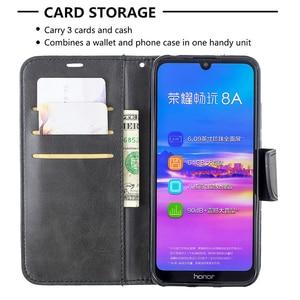 Image 5 - Da Vintage Dành Cho Huawei Y5 Y6 Y7 Danh Dự 10i 10 Lite Giao Phối 30 Lite P30 PRO Cấp Kiểu Ví thẻ Từ Bao