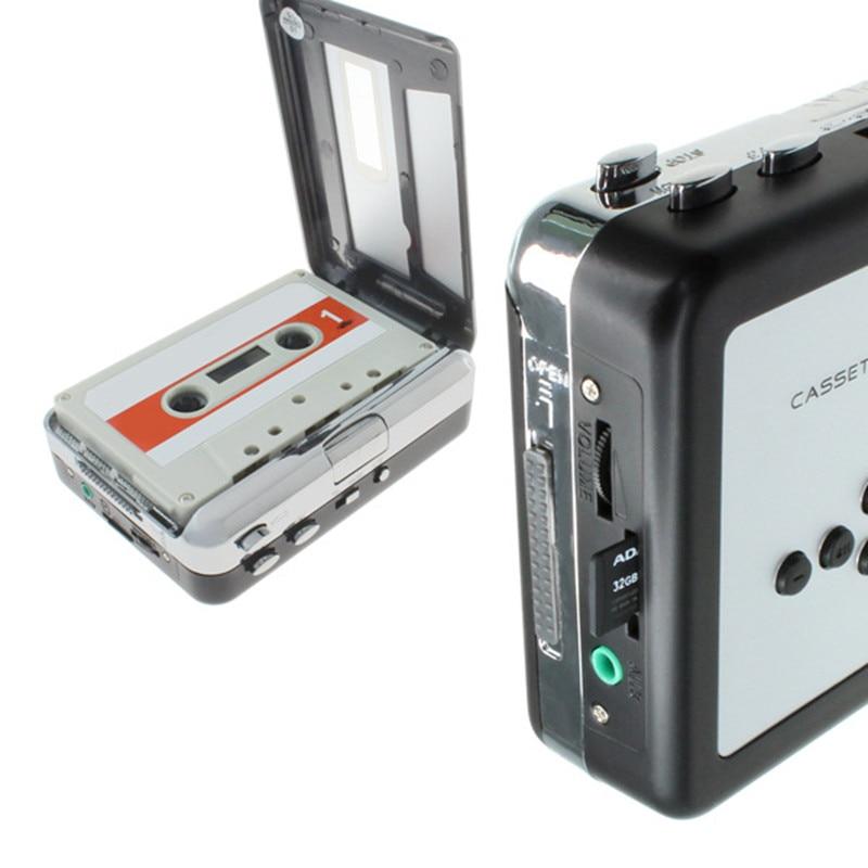 kaset pleyeri TF SD kart üçün MP3 çeviriciyə kaset edin Audio musiqi pleyeri lentdəki musiqini TF kartına çevirmək CR232