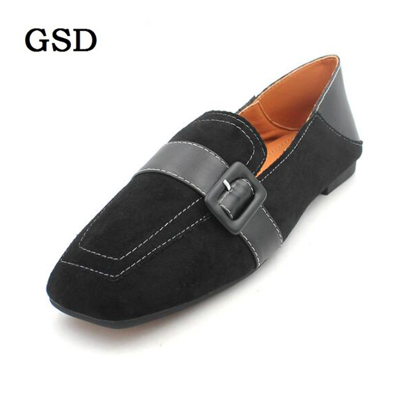 Woman Flats Shoes Slip On Women Square Toe Single Shoes Retro Buckle Ladies shoes Woman Loafers Soft Footwear zapatos de mujer  Woman Flats Shoes Slip On Women Square Toe Single Shoes Retro Buckle Ladies shoes Woman Loafers Soft Footwear zapatos de mujer