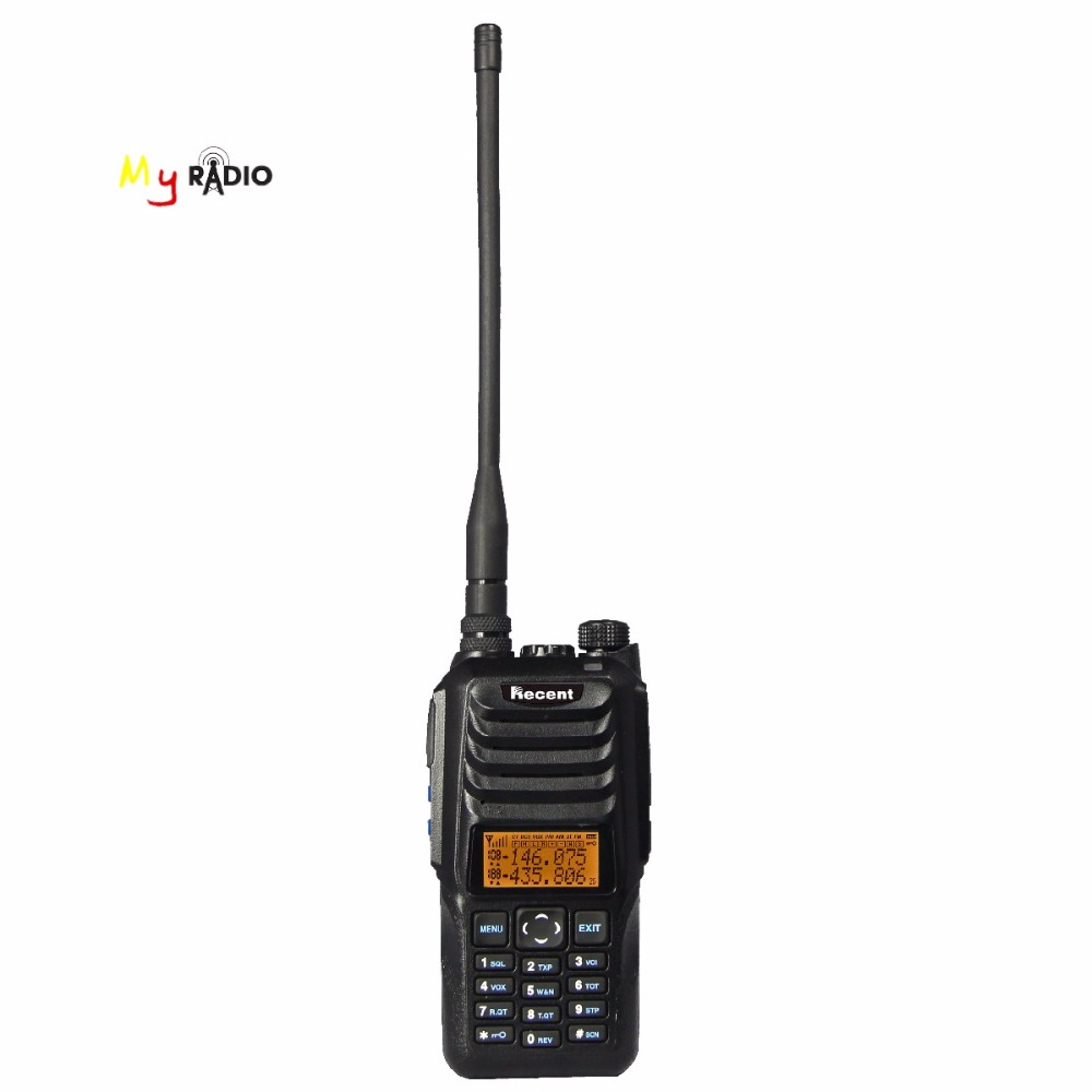 Recent RS 589 10W Big Power Transmitter Dual Band & Display & Standby Two Way Radio Protable Outdoor Sports ANI Walkie Talkie