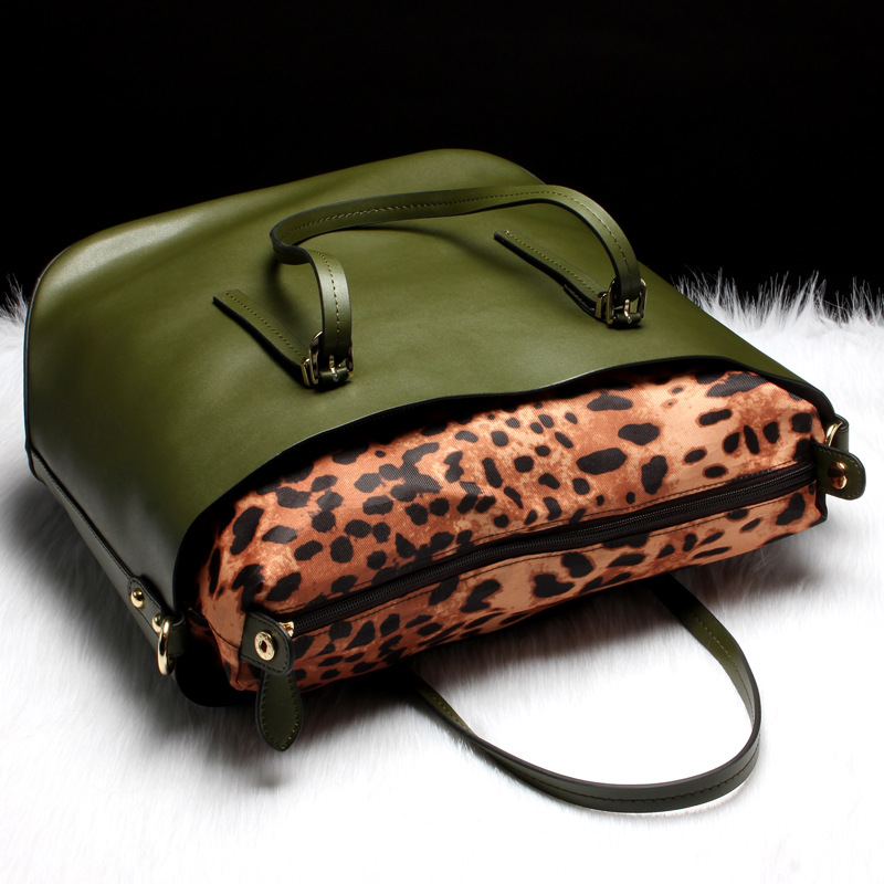 100% echt lederen tassen Vrouwelijke Beroemde merk Designer - Handtassen - Foto 3