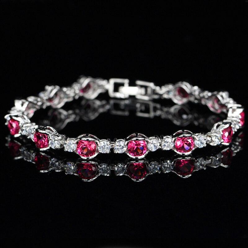 Ruby Red Bracelets