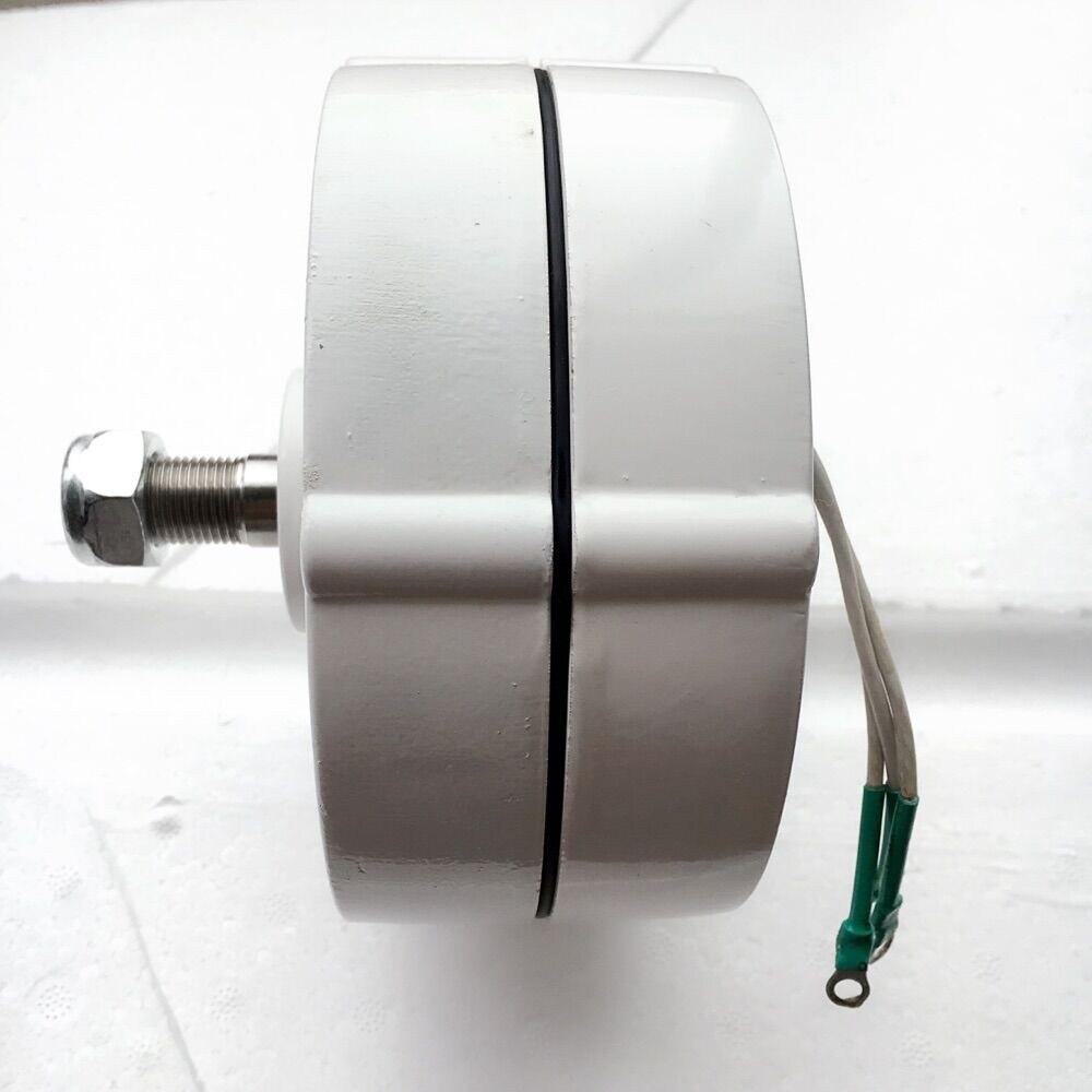 484c9a67252 AC12V 24 V 600 W generador de imán permanente alternador usado para DIY energía  eólica de turbinas eólicas sistema en Generadores de Energía alternativa de  ...