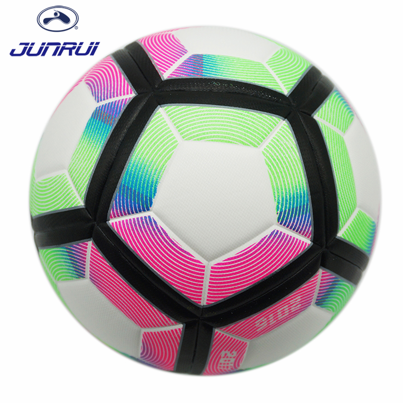 JUNRUI Official Size 5 Premier League Football Ball  Match Training Football Adults Outdoor Sports Balls soccer world cup 2018 free shipping suncore traveler 8x35 night vision binocular telescope fmc model