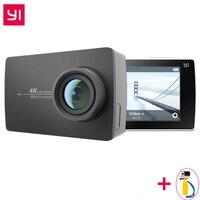 Международный Xiaomi YI 4 к действие камера IMX377 12MP Ambarella A9SE ARM к/30 155 градусов EIS LDC 2,19 экран высокой четкости Retina
