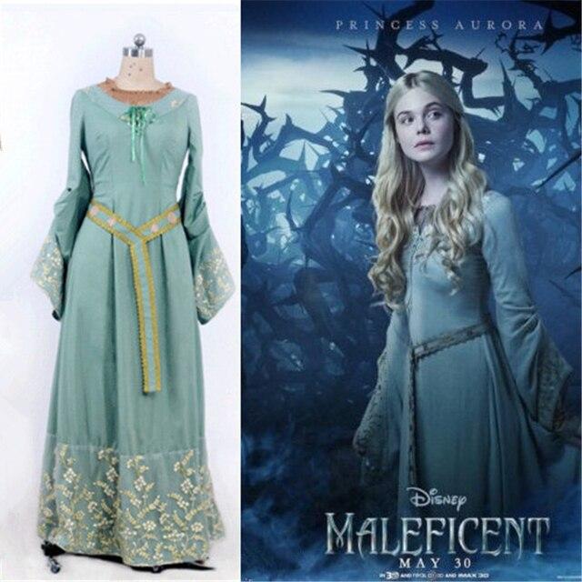 153 9 Princesa Aurora Traje Traje Para Adultos Bella Durmiente Traje Azul Fantasia Disfraces De Halloween Para Para Malefica Traje En Disfraces