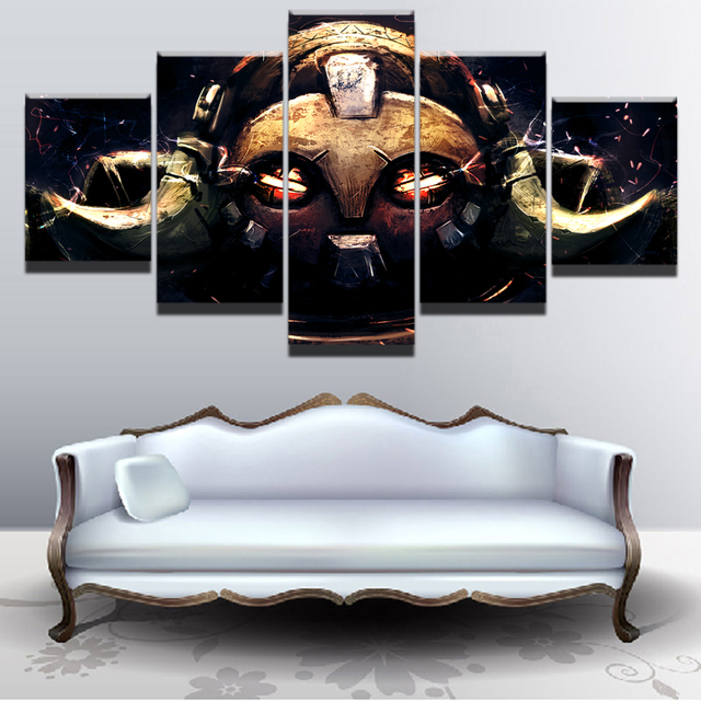 5 Pieces Game Poster Wall Art Orisa Overwatch Picture Modern Home Decoration Living Room Or Bedroom Canvas Printed Painting 3