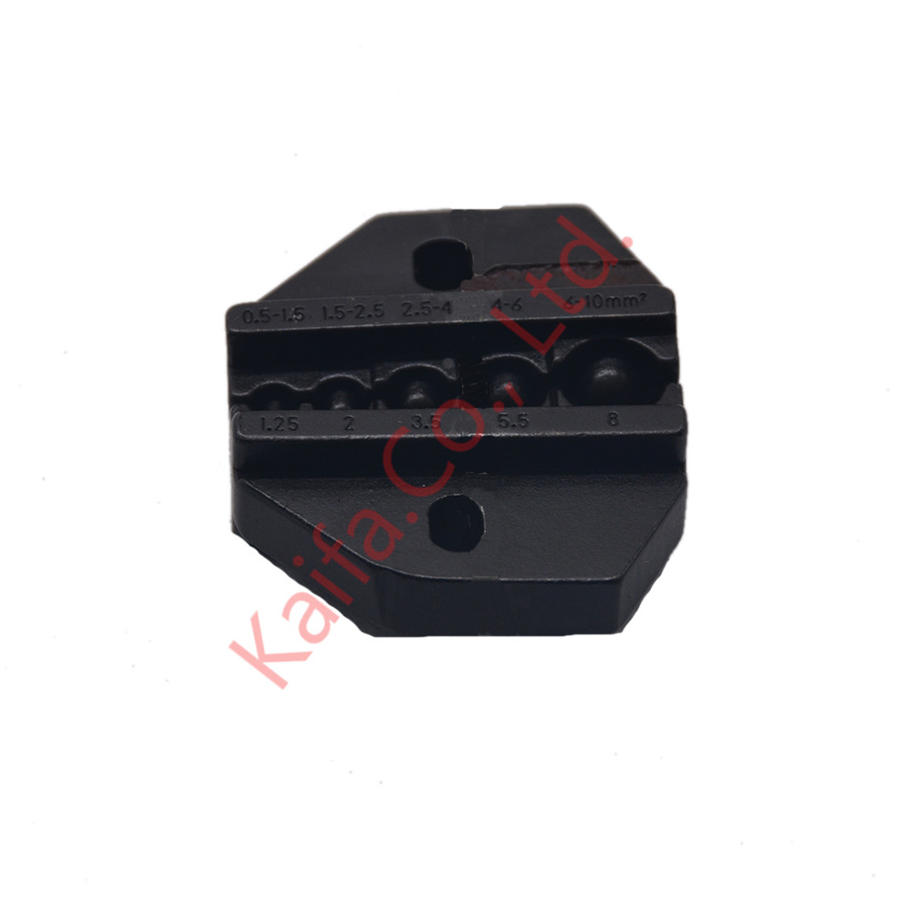 HOT Sale High Quality   Die Sets A0510TD For Non-insulated Terminals 0.5-1.5mm2 1.5-2.5mm2 2.5-4mm2 4-6mm2 6-10mm2  20-8AWG