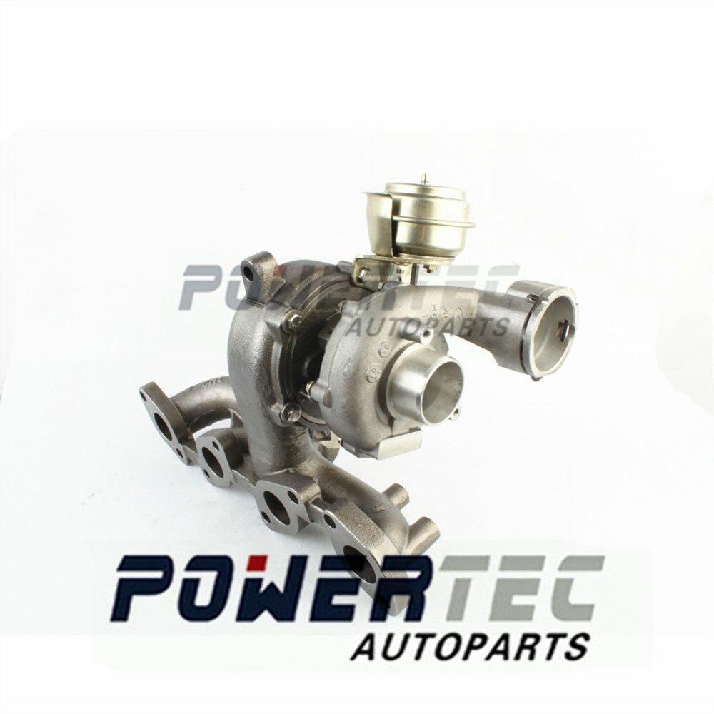 Turbocompresseur Garrett GT1749V 724930-0006/4/2 complet 724930 pour Seat Altea Leon Toledo III 2.0 TDI BKD/AZV 100 kw/103 kw