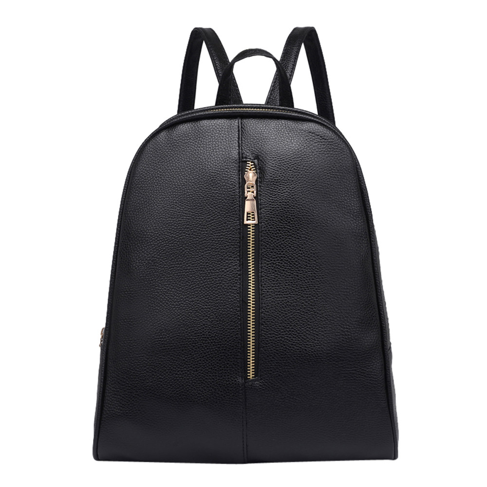 Woman Fashion Leather Backpack Female Preppy Style Zipper Mochila School Bag Simple Style Backpack Travel Backpacks preppy style school bag women backpack shoulders female travel bags kanken high quality leather backpacks bolsas free shipping