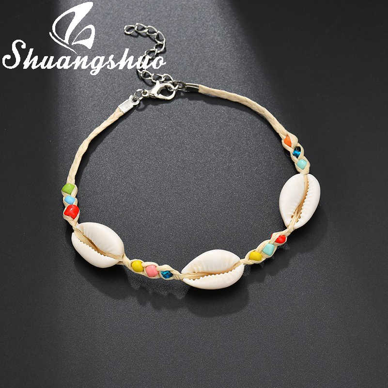Shuangshuo Bohemia Shell Bracelets Adjustable Charm Bracelet For Women Bracelet Fashion Jewelry 2019 Wedding Accessories Gift