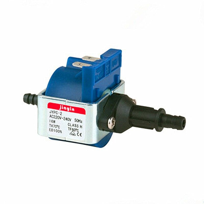 Vapeur de vêtement dédicacé pompe à vapeur tension 220-240 V fréquence 50Hz puissance 16 W débit moyen (cc/min) 120