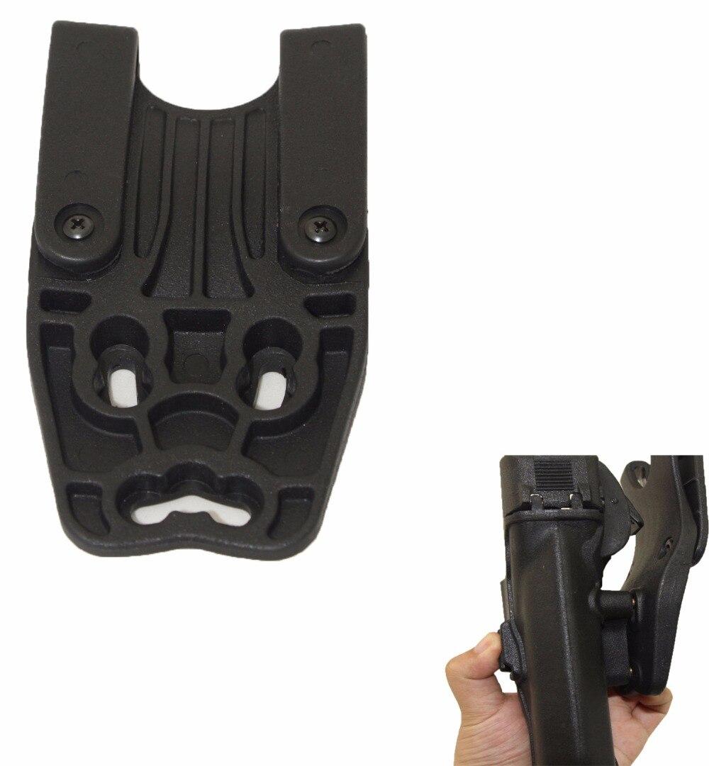 Airsoft Gun Accessories LV3 Hunting Pistol Gun Holster Adapter Paddle Belt Waist Holsters Platform Glock M9 USP Sig Sauer SP2022