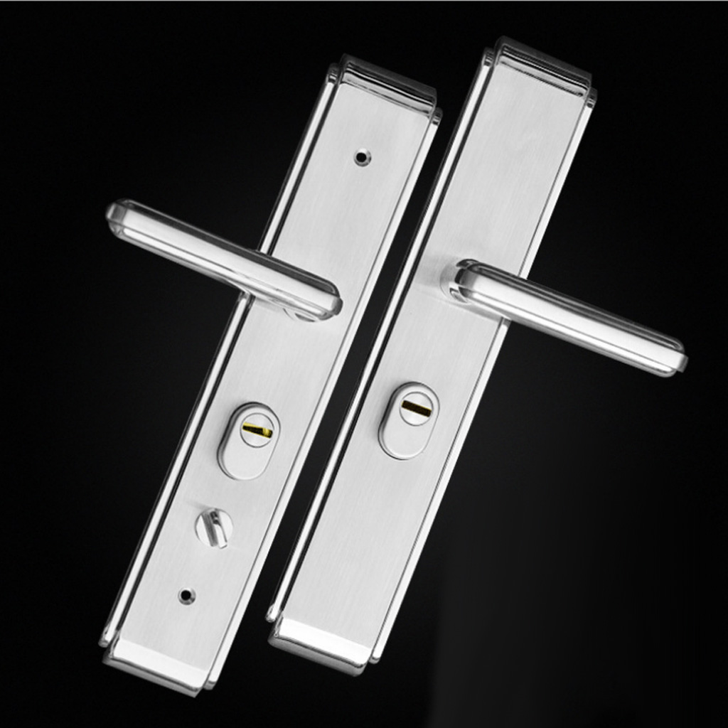 Baoblaze 304 STAINLESS STEEL SECURE ENTRY SECURITY LOCK MORTISE LEVER HANDLE LOCK набор ножей regent inox filo 93 kn fi s5