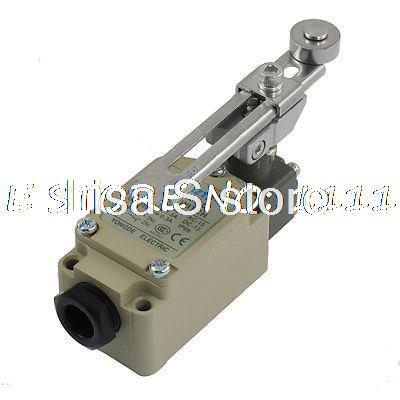 WLCA12-2-Q Adjustable Rotary Roller Lever AC DC Circuit Enclosed Limit Switch professional electrical switches dustproof rotary roller lever limit switch overtravel limit for cnc mill laser plasma me 8108
