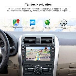 Image 3 - Junsun 2G + 32G Android 9.0 Cho TOYOTA COROLLA 2007 2008 2009 2010 2011 Radio Đa Phương Tiện Video người chơi Dẫn Đường GPS 2 DIN DVD