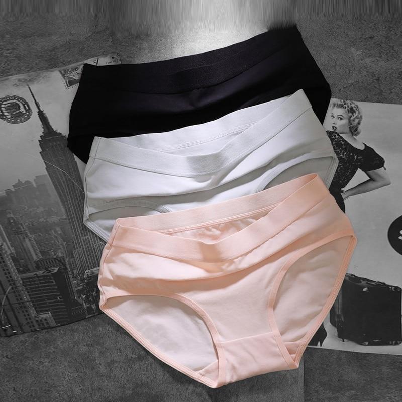 2019 fashionable cotton women panties sexy panties cute girl shorts pink Briefs women's seamless panties string femme lingerie