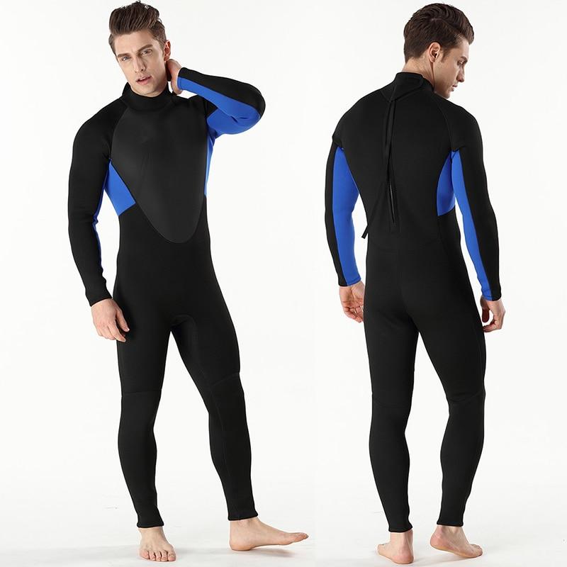 3mm Diving Suit Scuba Diving Wetsuit Men Neoprene Swimming Suit Kayaking Surf Triathlon Wet Suit Boating Swimsuit Full Body Suit