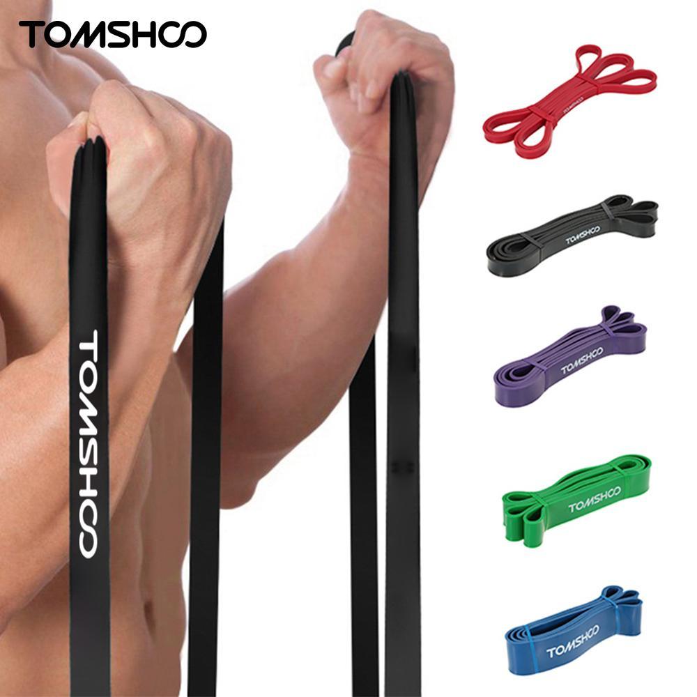 Workout Bands Com: TOMSHOO 208cm Resistance Band Powerlifting Bodybuilding