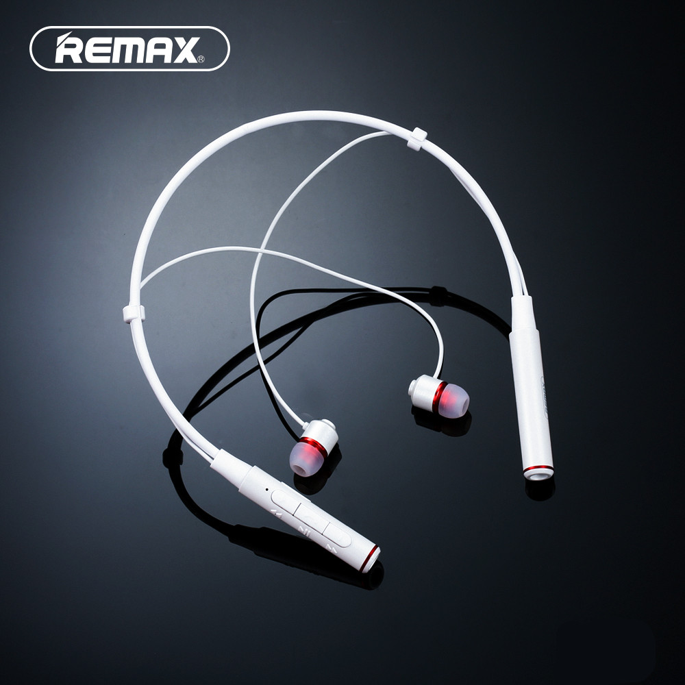 все цены на Remax Wireless Stereo Sports Neckband Bluetooth Music earphone HD Mic Multi Connections for iphone RB-S6 онлайн