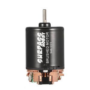 Image 3 - 540 27 t 브러시 모터 3.175mm 샤프트 1/10 rc 오프로드 레이싱 자동차 차량 부품 액세서리