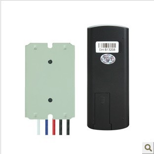 Y-C33  CE Certificate Three Ways RF Wireless Remote Control Light Switch Metal Shell 220V