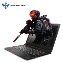 Machenike T58-D1 Laptop Intel Core i7-7700HQ GTX1050 8GB RAM 1TB HDD Gaming Notebook Quad Core 8 Threads Bluetooth 15.6' 1080P(China (Mainland))