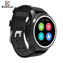 Купить с кэшбэком Kaimorui Smart Watch KC03 Android 6.0 4G Bluetooth Smartwatch IP67 Waterproof 1GB+16GB SIM GPS WiFi Changeable Band Smartwatch