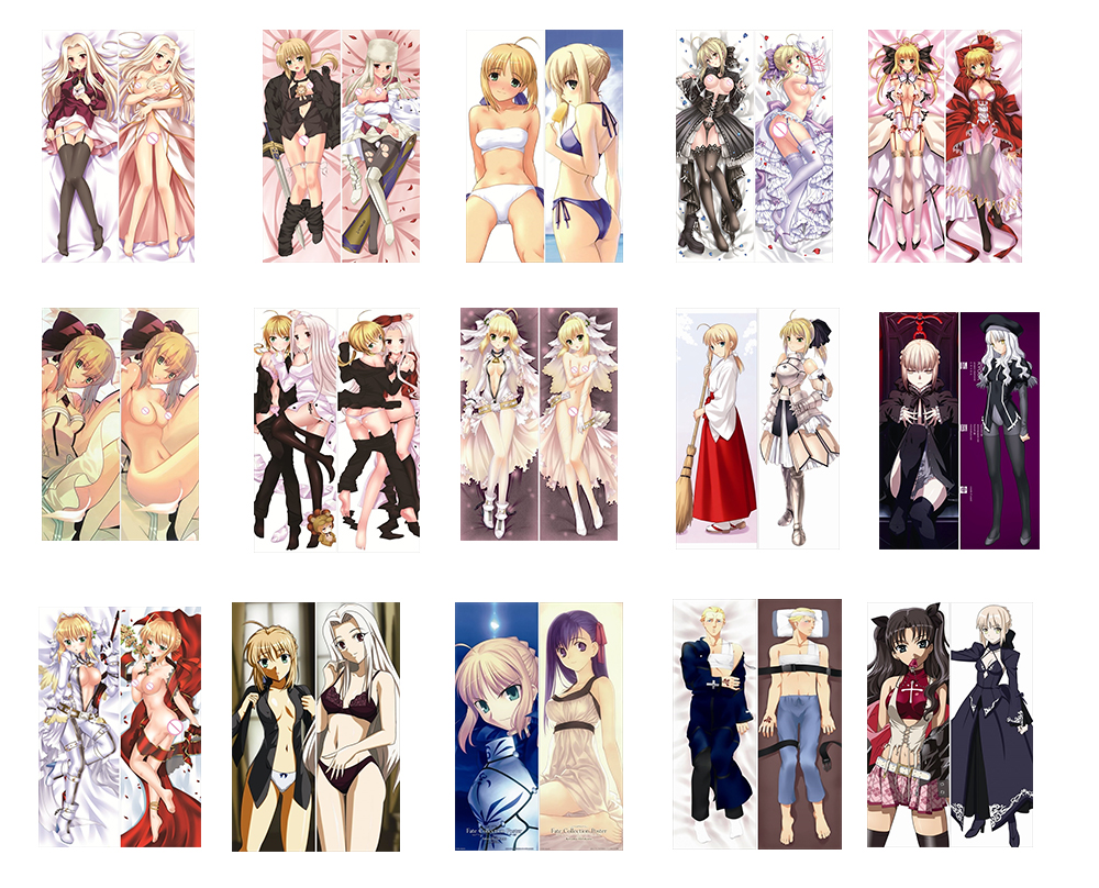Anime SABERR Schicksal Null Sabar Körper Kissen Hugging Kissenbezug - Haustextilien - Foto 1