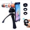 2017 lentes de telefoto 18x telescópio 150x zoom lente macro para iphone 6 6 s 7 plus 5 lentes 5S se 4 s fish eye ampla angl microscópio