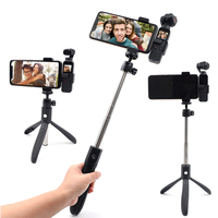 DJI OSMO Pocket Tripod Handheld Gimbal Extension Stick Rod Pole Scalable Holder Mount Smartphone Selfie Stick 360 Degree