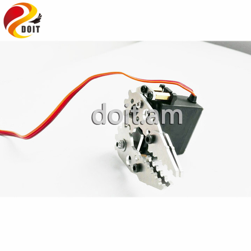 Official DOIT Manipulator Mechanical Arm Paw Gripper Clamp For MG995 SERVO Robot