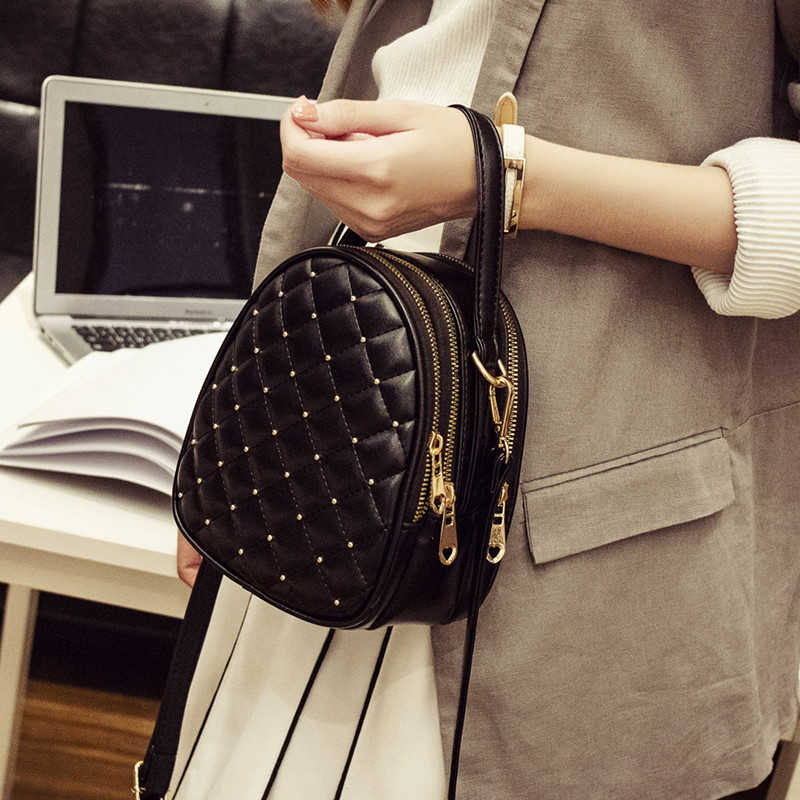 d68d84200 ... REPRCLA Luxury Handbags Women Bags Designer Small Shoulder Bag Fashion  Plaid PU Leather Crossbody Bags for ...