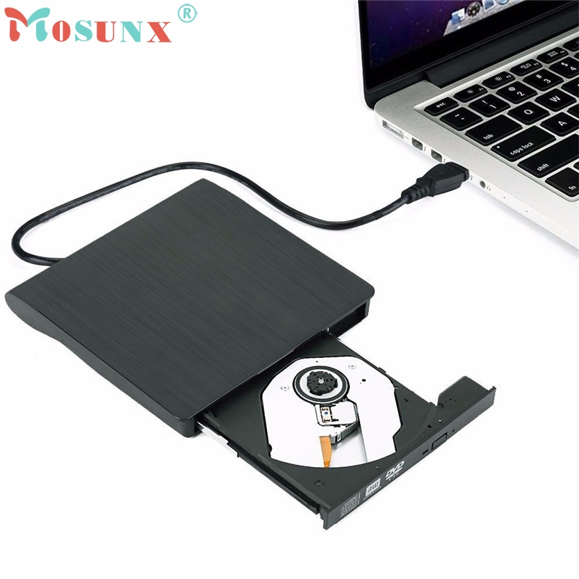 Slim External USB 3.0 DVD RW CD Writer Drive Burner Reader Player For Laptop PC SZ0331#23 victsing slim usb 2 0 drive cd dvd rw burner writer external optical drive with usb cable for apple macbook desktops laptops