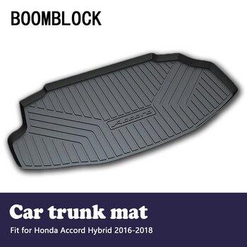 BOOMBLOCK Car Accessories Covers Trunk Mat Cargo Liner For Honda Accord Hybrid 2018 2017 2016