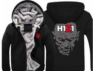 Image 2 - Trò chơi H1Z1 Hoodies Dày độn bông áo khoác mùa đông ấm Flannel Hoodie Áo Khoác Mềm Cashmere Áo Nỉ Unisex New
