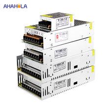 Fuente de alimentación conmutada de 12 voltios, fuente de alimentación de CA a CC de 12 v, Unidad de 1a, 2a, 3a, 5a, 6a, 10a, 20a, 30a, 40a, 50a, smps